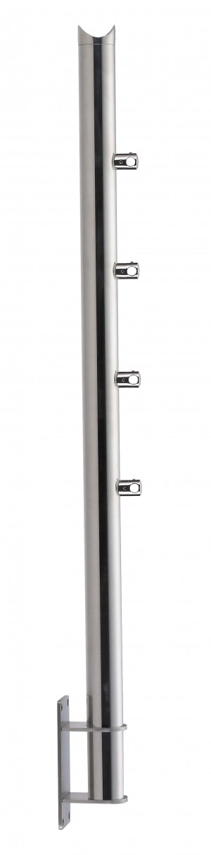 Stainless Steel Balustrade Posts - Tubular SS:2020479A