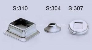 ฐานสี่เหลี่ยม (S: 310) S: 310