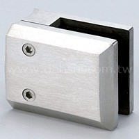 Square Shape Glass Clamp ( SS:483080BL) SS:483080BL