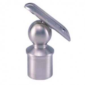 Adjustable Stainless Steel Hand Rail Saddles, Banister Handrail Saddles