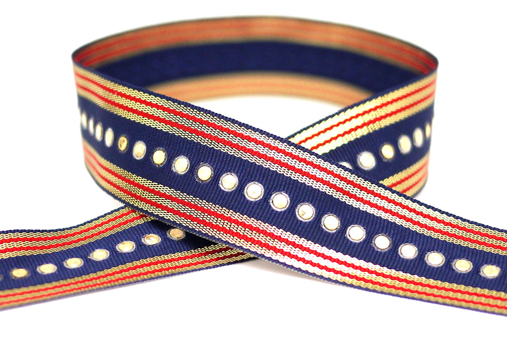Sequins Grosgrain Ribbon