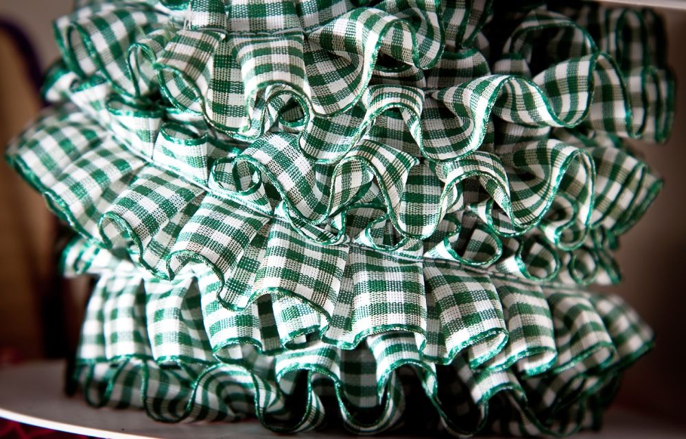 Pleated/Ruffled Ribbon