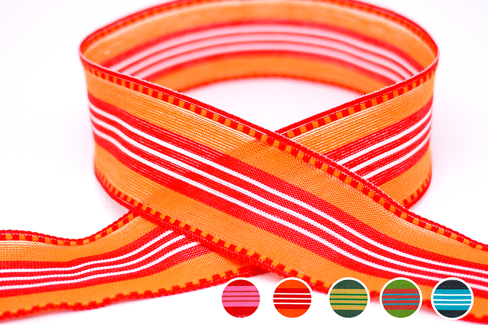 Eco-friendly Stripe Ribbon