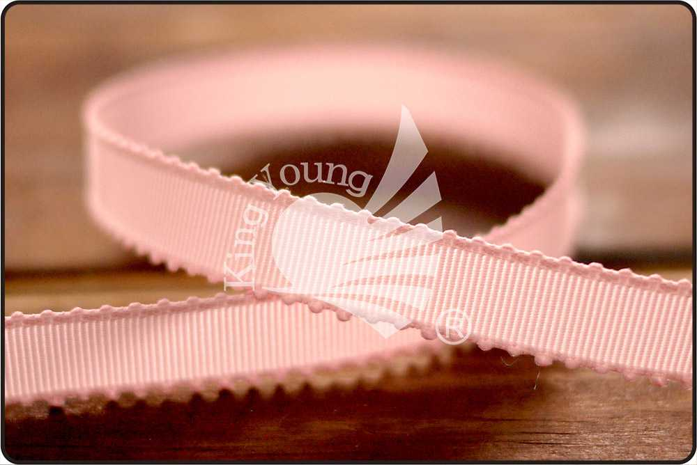 Scalloped 9mm Grosgrain Ribbon