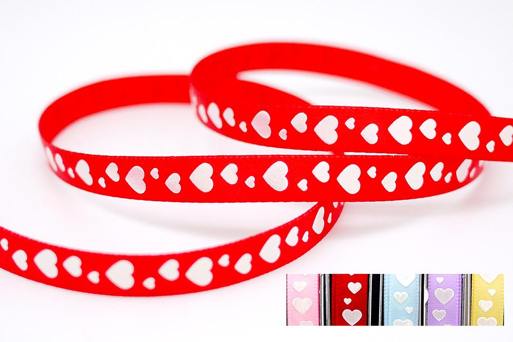 Iridescent Sweethearts Print Ribbon