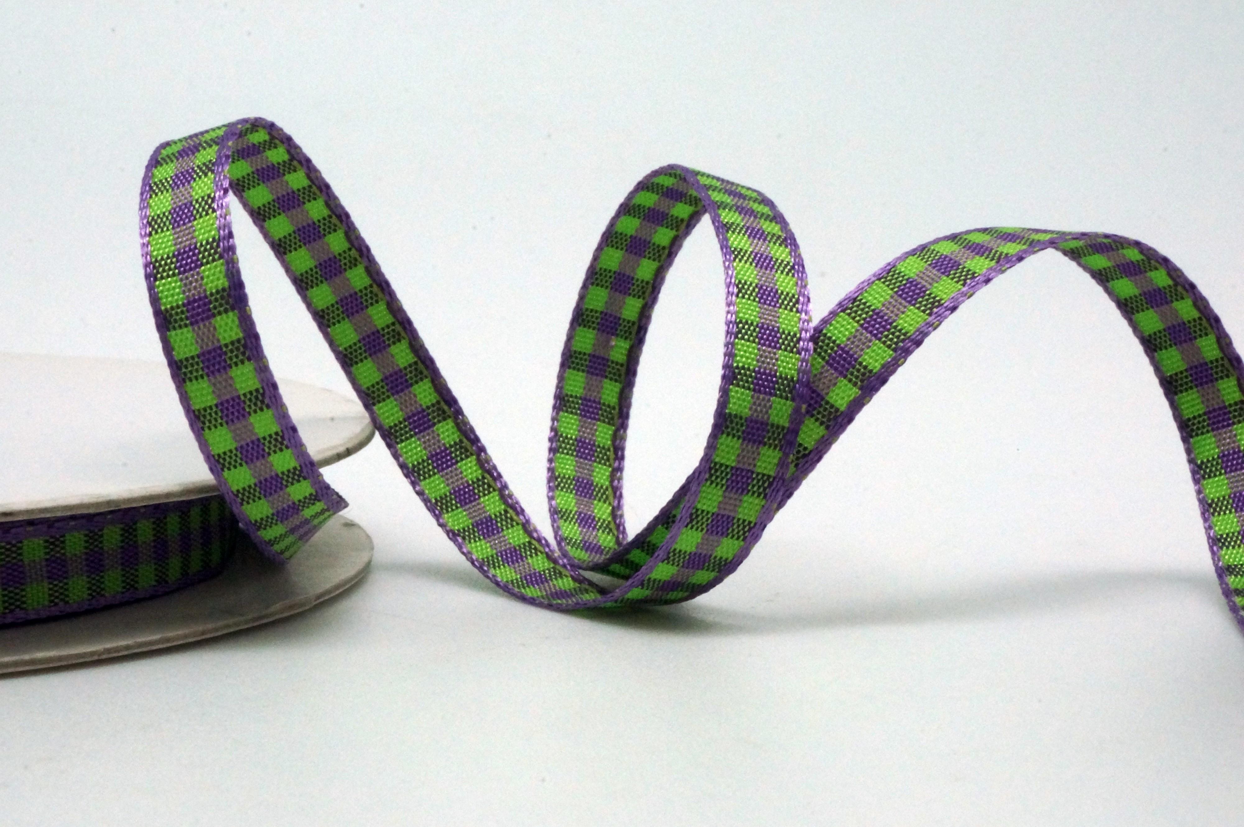 1/4 inch Gingham Ribbon