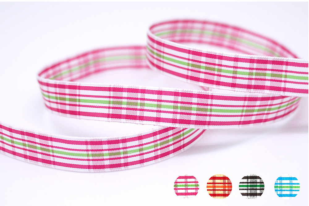 Plaid Ribbon(PF180)