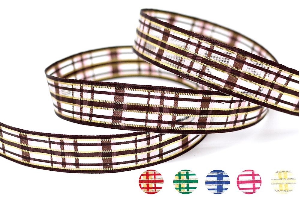 Plaid Ribbon(PF181)