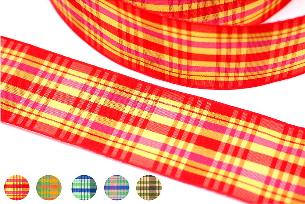 Plaid Ribbon(PF192W)