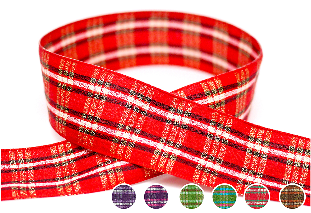 Plaid Ribbon(PF207M)