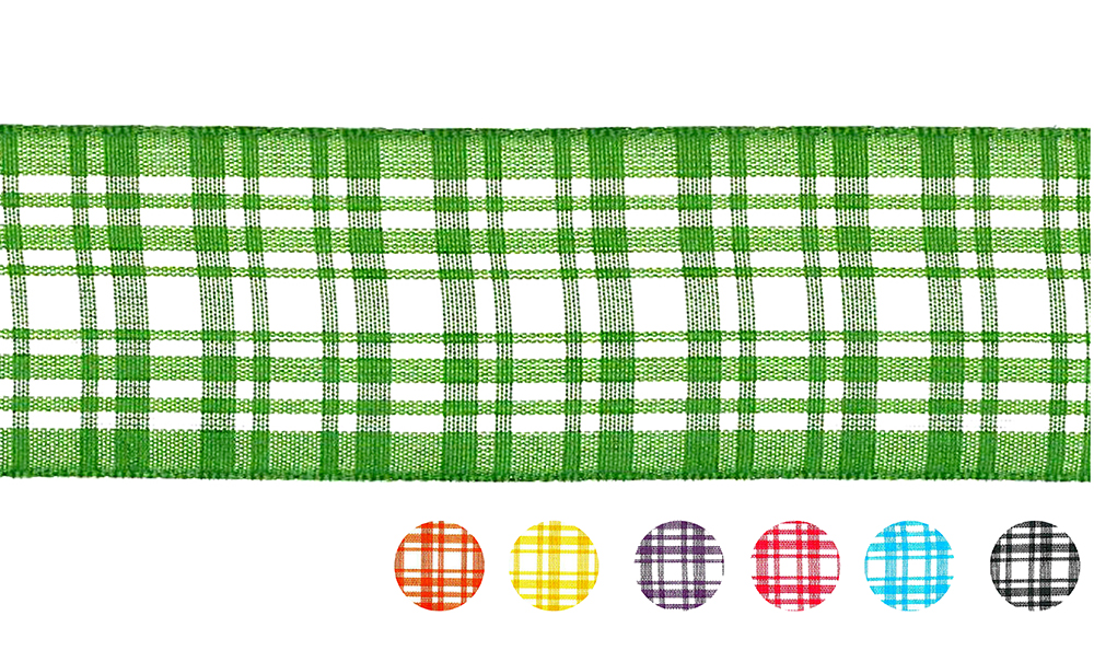 Plaid Ribbon(PF238)