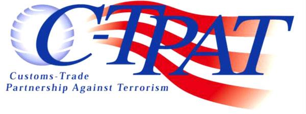 金陽は米国税関貿易反テロ同盟認証に合格しました