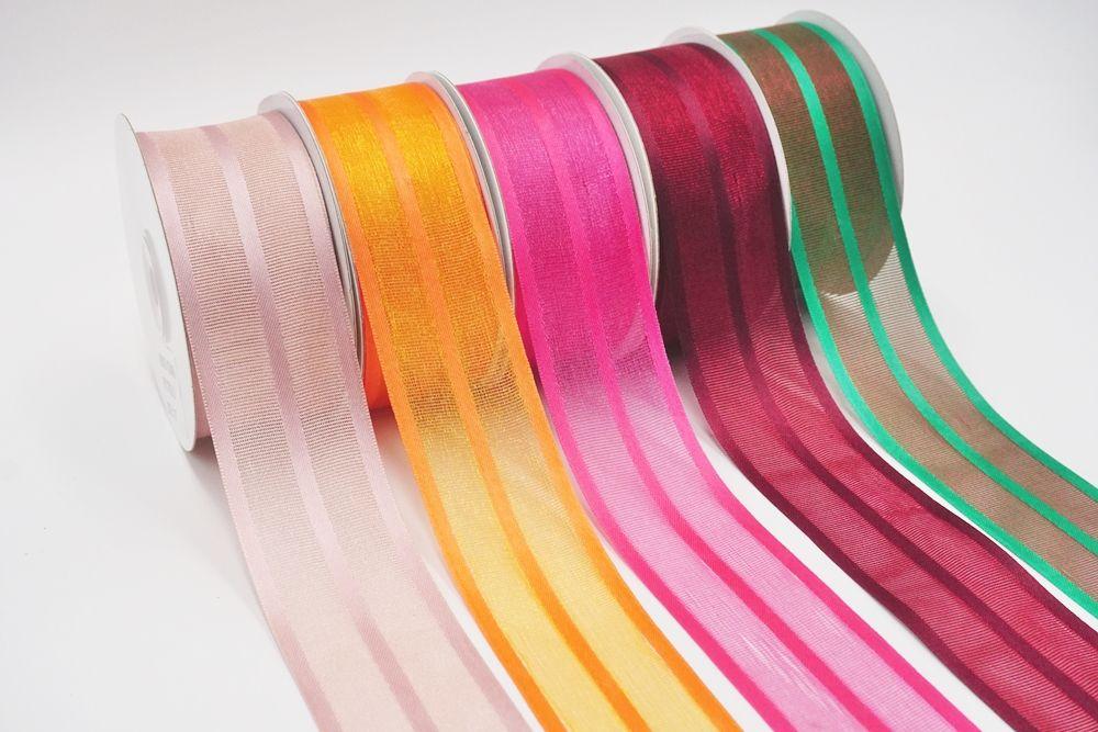 see through grosgrain ribbon