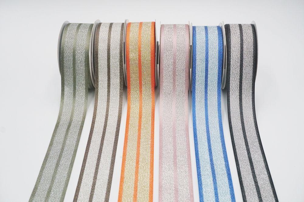 metallic grosgrain combin ribbon