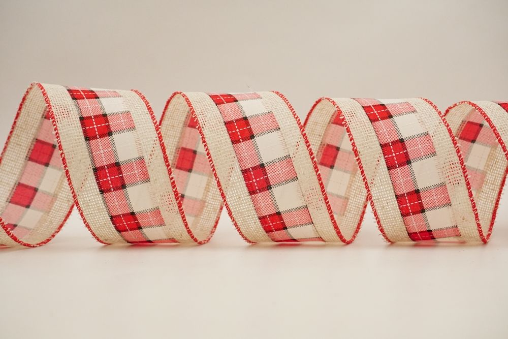 Christmas Elements Ribbon in all fabric combination