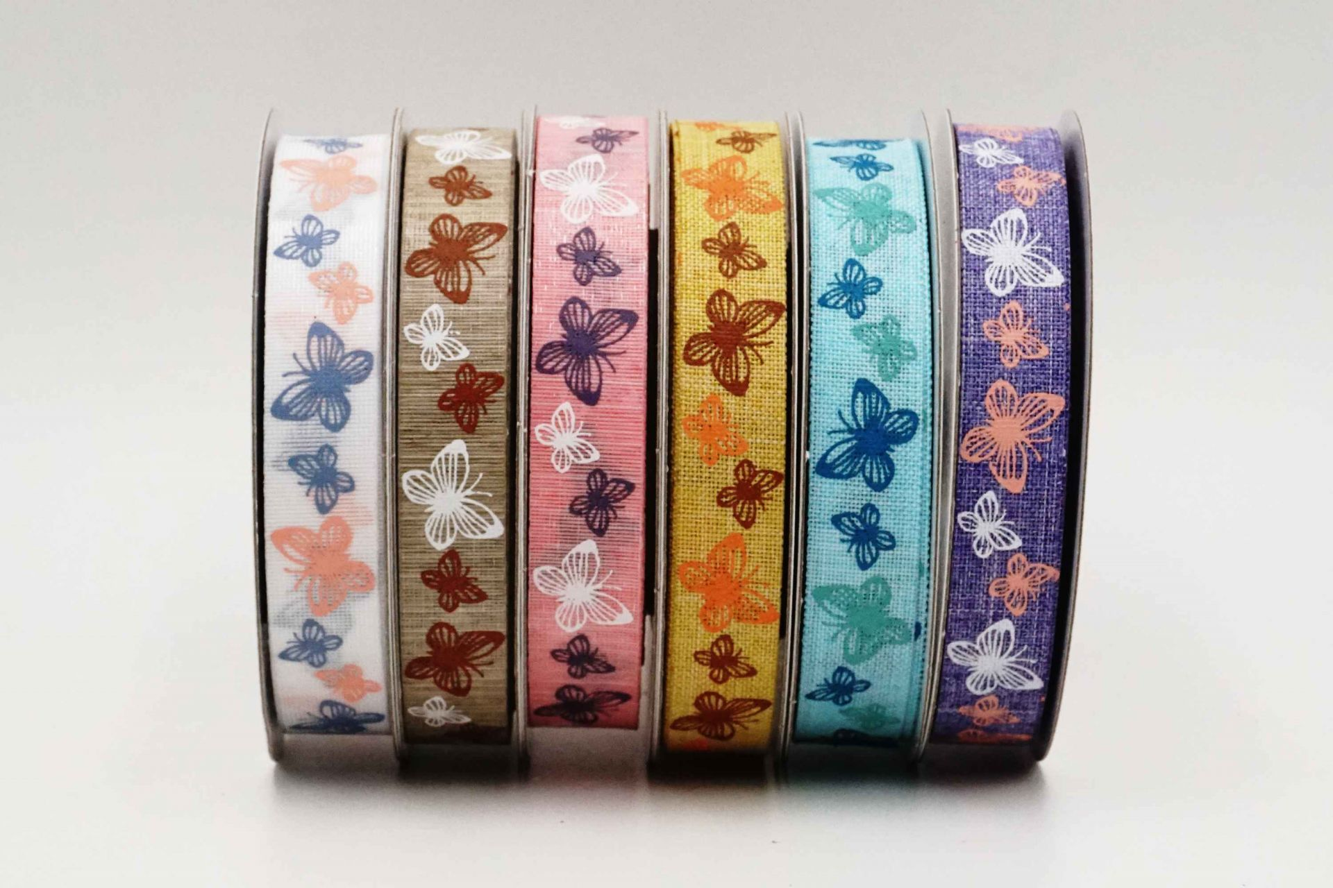 Spring Butterflies Ribbon