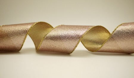Fancy-weave Metallic Ribbon - Fancy-weave Metallic Ribbon