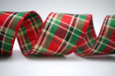 CRHISTMAS PLAID RIBBON