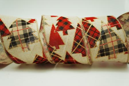 Tartan Christmas Tree Ribbon - Tartan Christmas Tree Ribbon