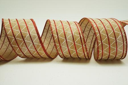 Lines & Rhombuses Ribbon - Lines & Rhombuses Ribbon