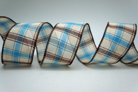 Quinque-color Plaid Ribbon - Quinque-color Plaid Ribbon