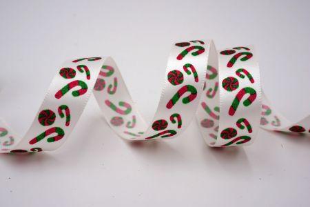 Christmas Candy Cane Ribbon - Christmas Candy Cane Ribbon