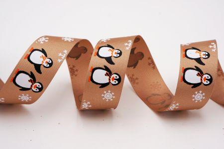 Лента с пингвином и снежинкой - Лента с пингвином и снежинкой