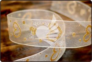 Glitter Heart Ribbon_PR2898 - Glitter Heart Ribbon (PR2898)