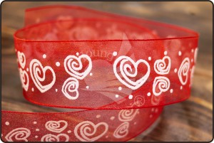 Amor Organza Ribbon - Amor Organza Ribbon (PR457 -460)