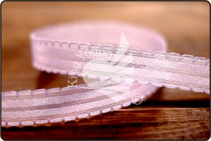 Organza Satin Scalloped Ribbon - Organza Satin Scalloped Ribbon