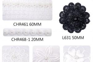 Various New Lace Ribbons - Various New Lace Ribbons