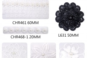 Various New Lace Ribbons - Various New Lace Ribbons
