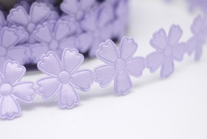 Die-cut Flowers Ribbon - Die-cut Flowers Ribbon