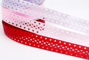 Geometric Die-cut Ribbon - Geometric Die-cut Ribbon