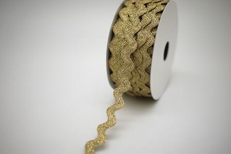Metallic Ric Rac Ribbon - Metallic Ric Rac Ribbon