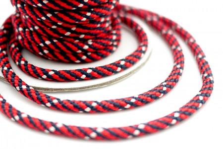 Tricolored Braided Cord - Tricolored Braided Cord