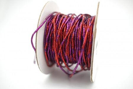 Bicolored Metallic Cord - Bicolored Metallic Cord