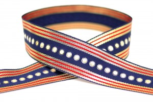Sequins Grosgrain Ribbon - Sequins Grosgrain Ribbon