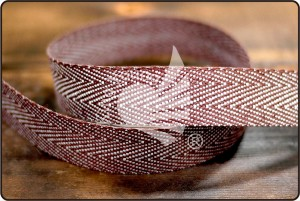 Jute Twill Tape Ribbon - Jute Twill Tape Ribbon
