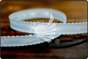 Scalloped Edge Satin Center Ribbon - Scalloped Edge Satin Center Ribbon