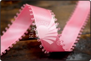 Satin Ribbon with Picot Edge - Satin Ribbon with Picot Edge (K430)