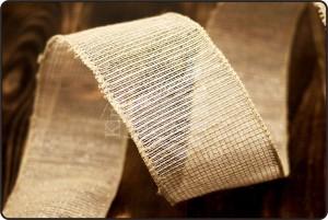 Linen Mesh Ribbon - Linen Mesh Ribbon