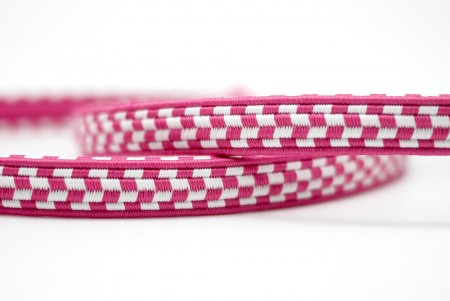 Checkered Elastic Ribbon - Checkered Elastic Ribbon