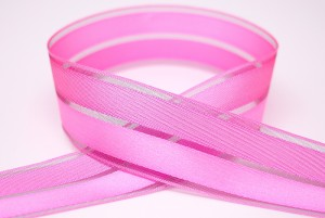 Satin & Sheer Combined Ribbon
