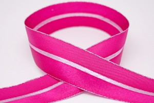 Satin & Metallic Combined Ribbon - Satin & Metallic Combined Ribbon