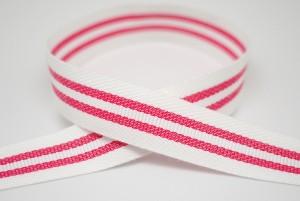 Three-stripes Twill Tape Ribbon - Three-stripes Twill Tape Ribbon