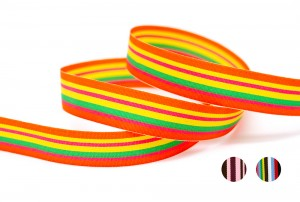 Woven Stripe Ribbon_K1136 - Striped Ribbon (K1136)