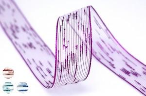Twisted Yarn Metallic Ribbon - Twisted Yarn Metallic Ribbon
