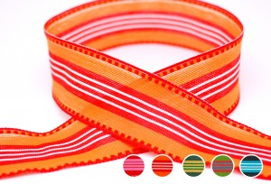 Eco-friendly Stripe Ribbon - Eco-friendly Stripe Ribbon