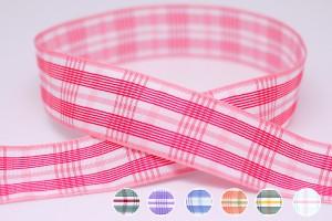 Texta Reversible Plaid Ribbon